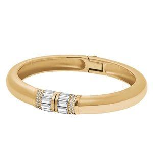 MICHAEL KORS Gold/Crystals Park Avenue Bracelet
